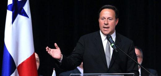 Juan Carlos Varela, presidente de Panamá | Foto: AFP