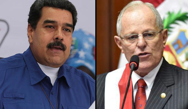 Nicolás Maduro y Pedro Pablo Kuczynski | Composición Notitotal