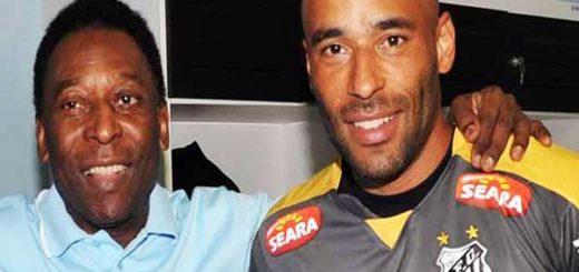 Pelé junto a su hijo, Edson Edinho |Foto: G1