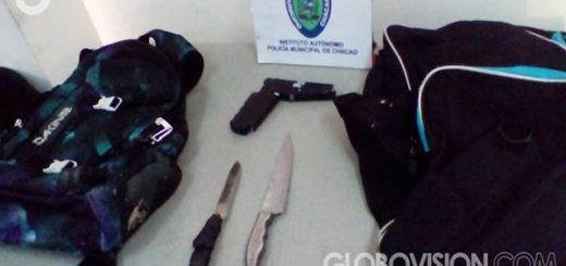 Funcionarios de PoliChacao detuvieron a tres presuntos delincuentes |Foto: Globovisión