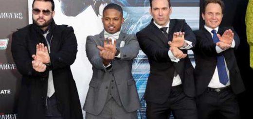 Elenco original de Power Rangers se juntó para el estreno de nueva película | Foto: AFP