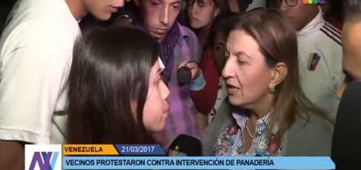 Joven protesta contra la situación del país |Captura de video