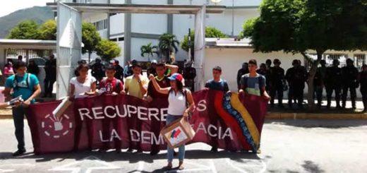 Protesta en Margarita |Foto: Reporte Confidencial
