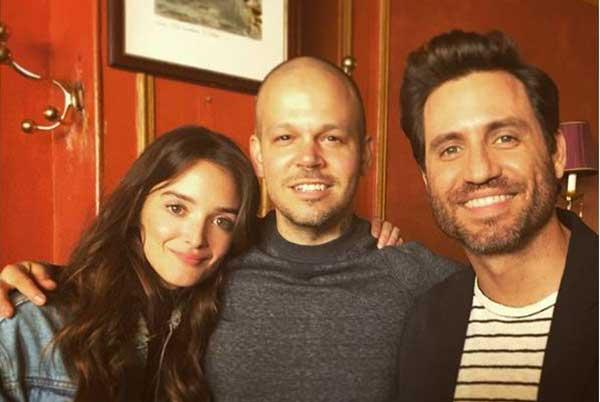 Charlotte Le Bon, Residente y Edgar Ramírez   Créditos: Instagram @residente