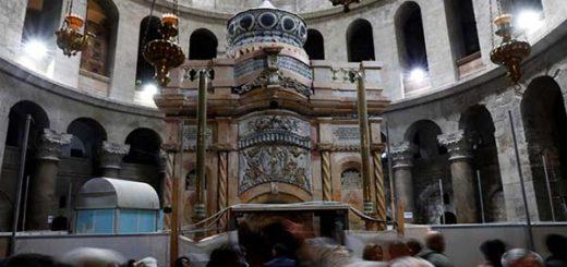 El Santo Sepulcro fue restaurado |Foto: Reuters