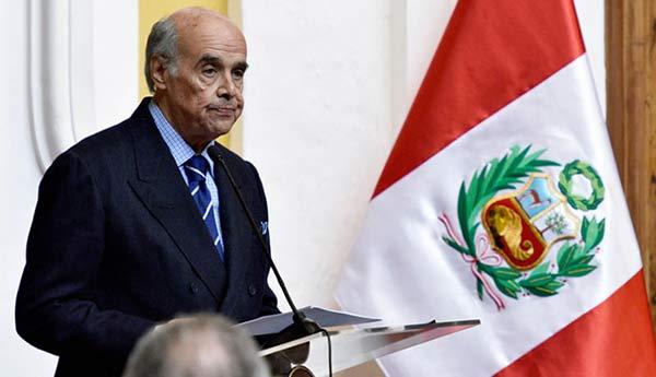 Ricardo Luna, Canciller de Perú | Foto: Cortesía