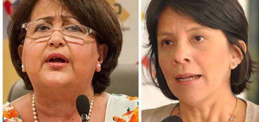 Tibisay Lucena y Sandra Oblitas, rectoras del CNE | Notitotal