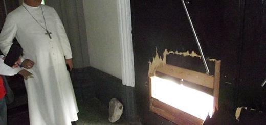 Robo en iglesia de Maracaibo | Foto: Noticiaaldia