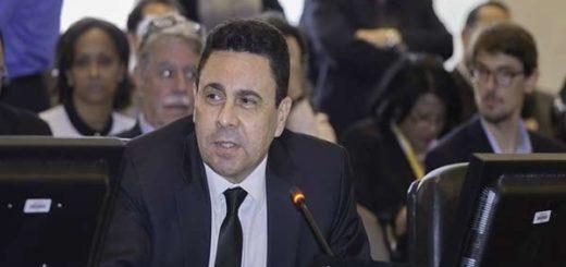 Samuel Moncada, representante de Venezuela en la OEA |Foto cortesía