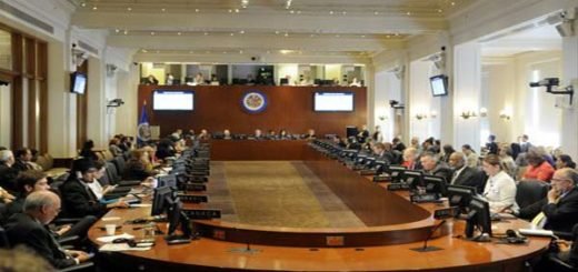 OEA discute situación de Venezuela |Foto cortesía