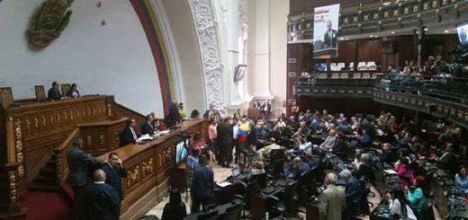 Sesión de la AN| Foto: @AsambleaVea