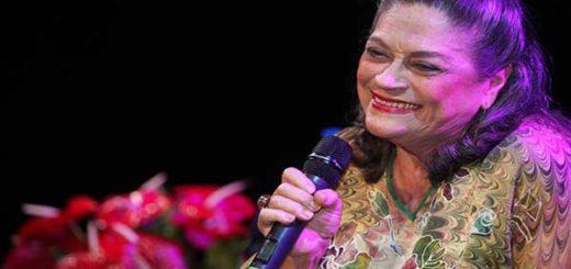 Soledad Bravo, cantante venezolana |Foto cortesía