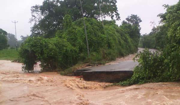 Fuertes lluvias causan estragos en Táchira |Foto: Globovisión
