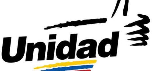 Logo de la Mesa de la Unidad Democrática (MUD) |Foto referencial