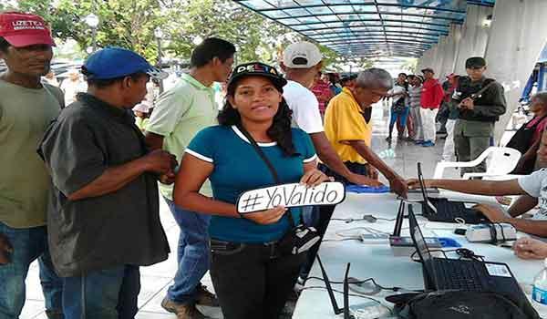 Proceso de validación, 04 y 05 de marzo  Foto: Globovisión