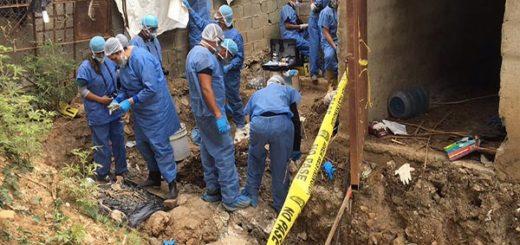 En zona de la caballeriza de la PGV, expertos hallaron restos humanos |Foto: Madelein Garcia