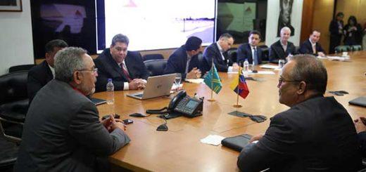 Venezuela y Aruba revisaron acuerdos energéticos de cooperación |  Foto: @NMartinezVe