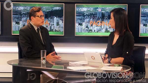 José Vicente Haro, abogado constitucionalista |Foto: Globovisión