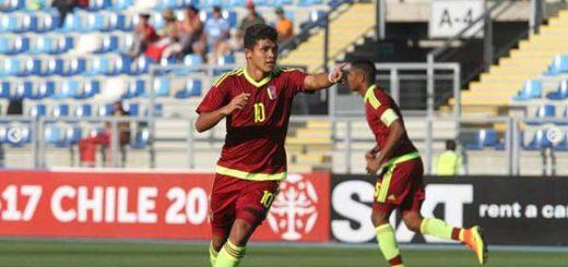 Vinotinto Sub17 quedó a las puertas del Mundial tras vencer 4-2 a Ecuador | Foto: AFP