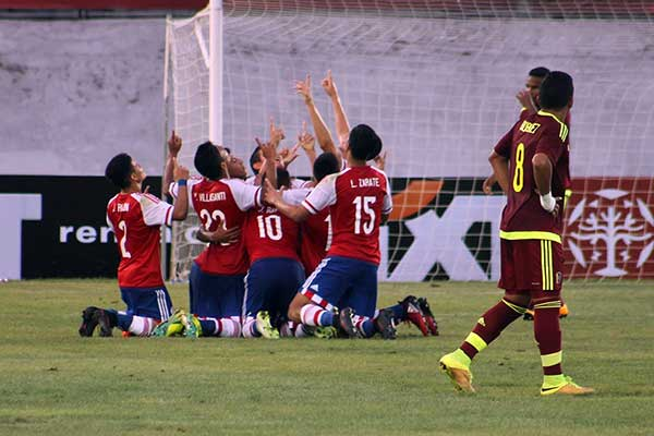 Venezuela y Paraguay, Sub 17, igualaron el marcador |Foto: Twitter