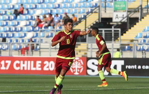 Vinotinto Sub 17 quedó a las puertas del Mundial tras vencer 4-2 a Ecuador | Foto: AFP