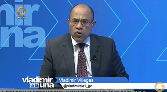 Vladimir Villegas, Periodista | Foto: Captura de video