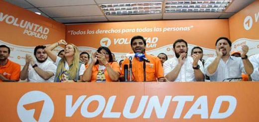 Voluntad Popular confirma a su candidato presidencial |Foto cortesía