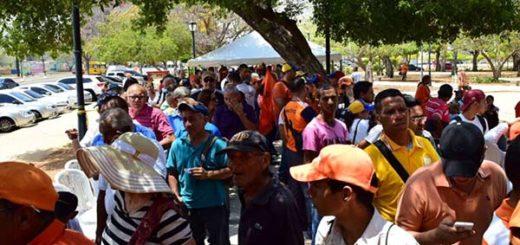 Simpatizantes de Voluntad Popular en Zulia |Foto Twitter