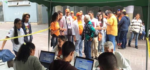 Voluntad Popular participa en proceso de validación |Foto Twitter