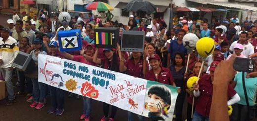 Amazonas salió a las calles para exigir solución al problema eléctrico | Foto cortesía