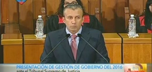 Tareck El Aissami | Foto: captura de video