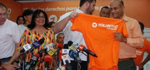 El alcalde Oswaldo Zerpa y cuatro concejales chavistas se sumaron a las filas de Voluntad Popular | Foto: Informe21