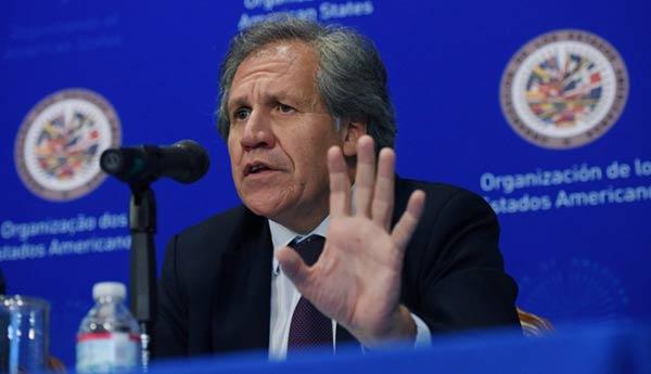 Luis Almagro, Secretario general de la OEA | Foto cortesía