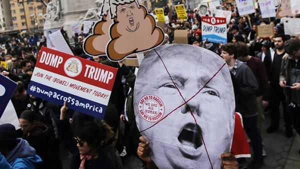 Protesta contra Trump | Foto: Eduardo Muñoz Álvarez | Getty Images