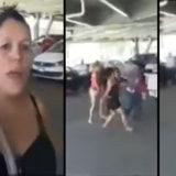 Ladrón recibió golpiza de parte de las venezolanas | Captura de video