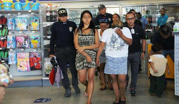 Capturan A Cuatro Mujeres Tras Sustraer Mercancia De Farmatodo En Puerto Cabello Foto Notitarde