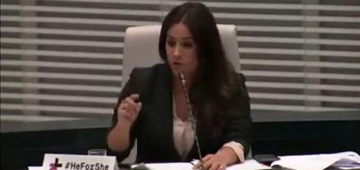 Begoña Villacís, portavos del partido Ciudadanos | Foto: captura de video