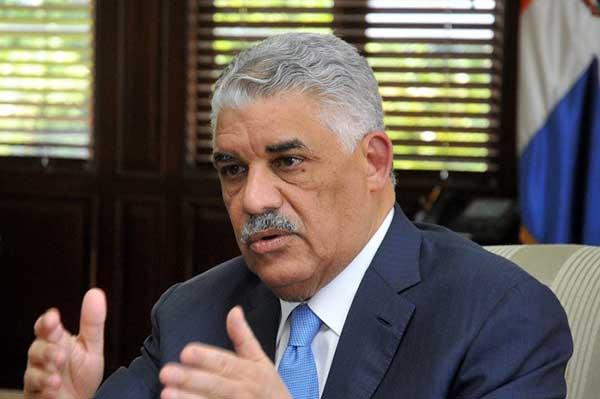Canciller dominicano apela al diálogo como solución a situación de Venezuela | Foto: Agencias
