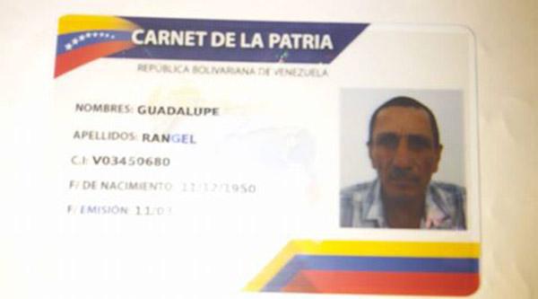 carnet-patria-guadalupe-rangel-muerto