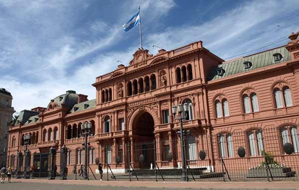 Casa Rosada en Argentina |Foto: EFE