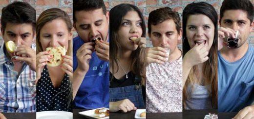 Chilenos prueban comida venezolana | Foto: Youtube