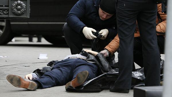 diputado ruso fue asesinado a tiros en medio de Kiev | Foto: EFE