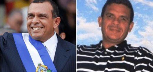 Expresidente hondureño Porfirio Lobo e hijo, Fabio Porfirio Lobo | Composición