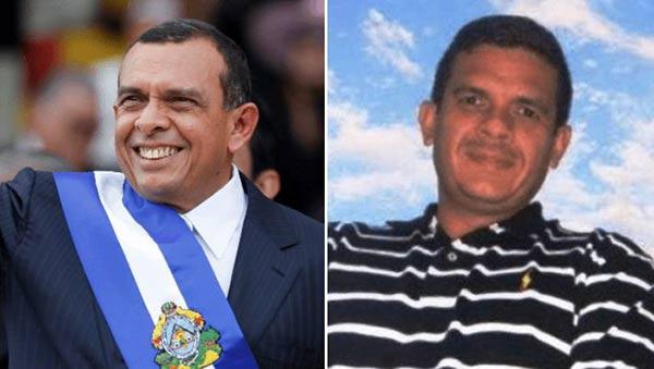 Expresidente hondureño Porfirio Lobo e hijo, Fabio Porfirio Lobo   Composición