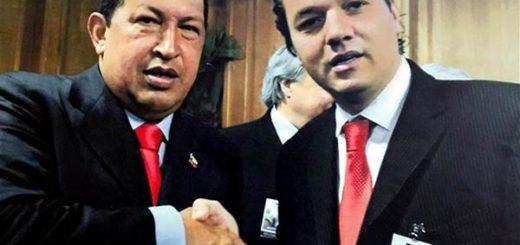 Hugo Chávez y Juan José Levy | Foto: La Nación