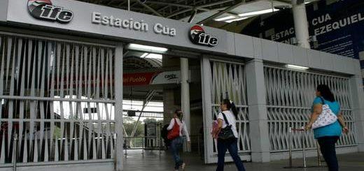 Estación Cúa | Foto: El Universal