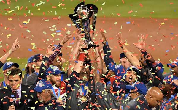Estados unidos gana el Clásico Mundial de Béisbol