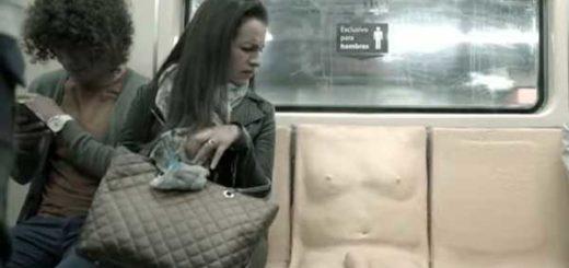 El curioso experimento que busca crear conciencia sobre el acoso sexual que sufren las mujeres en el transporte público | Captura de vidoe