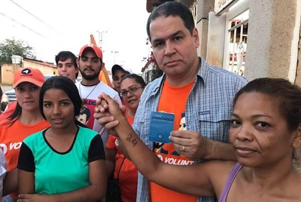 Luis Florido inició gira nacional de difusión sobre aplicación de Carta Democrática | Foto: NP