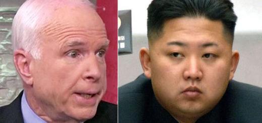 Senador McCain / Kim Jong-Un | | Composición Notitotal